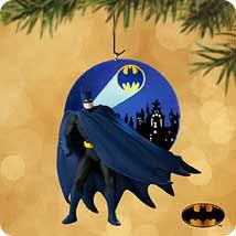 2002 batman calling the caped crusader hallmark ornament at
