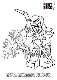 Ninjago Coloring Pictures Startupharbor Me Green Coloring Page