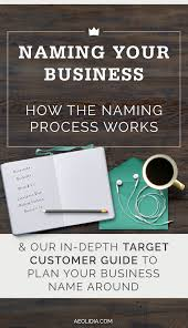 name your business 6 rules stick by hard work