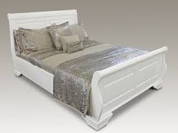 White Sleigh Bed Sweet Dreams Jackdaw White Sleigh Bed Frame