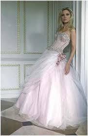 rosa brautkleid prominentens braut look biels rosa brautkleid meine