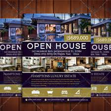 elegant open house listing property template u2013 real estate lead