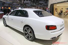 white bentley 2016 bentley continental flying spur v8 s u2013 2016 geneva motor show live