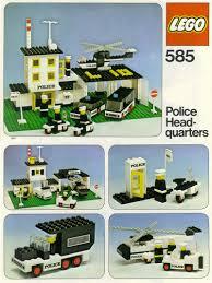 Lego Headquarters Lego Police Headquarters Instructions 585 Police