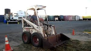 bobcat melroe 610 loader youtube