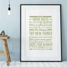 House Rules Design Ideas Personalised House Rules Print By Ditsy Chic Notonthehighstreet Com