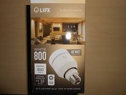 Led Light Bulbs Sale by Lifx White 800 A19 Wi Fi Smart Led Light Bulb Adjustable