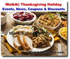 waikiki thanksgiving coupons sales specials news