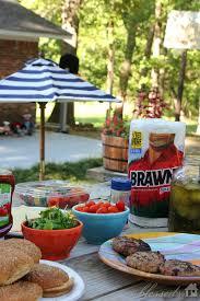 backyard suppertime