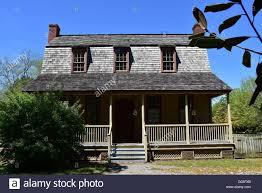 gambrel roof house bath north carolina 1790 van der veer dutch colonial home with