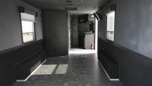 Cargo Trailer With Bathroom Car Hauler Living Quarters Featherlite Trailers