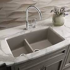 X  Double Bowl Undermount Kitchen Sink With Faucet And Soap - Blanco kitchen sinks