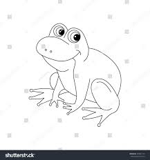 frog coloring icon logo cartoon vector stock vector 495041170