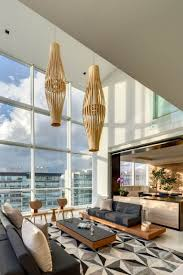 Modern Penthouses Designs Lightweight Geometry Exhibited By Penthouse Mk In Mexico City