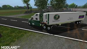 minecraft semi truck old dominion truck and trailer mod farming simulator 17