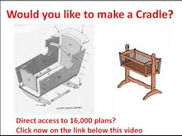 Free Wooden Cradle Plans by Doll Cradle Plans Would You Like To Make A Cradle Click Here