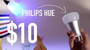 how much are led lights 10 philips hue smart led light bulb wifi controlled only 10