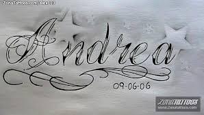 imagenes letras goticas nombres tatuajes y diseños del nombre andrea