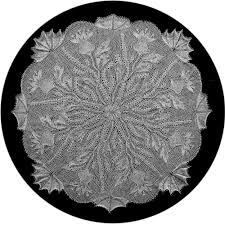 Steingarten Mit Granit Knitted Lace Doilyhead U0027s Blog