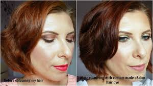 esalon hair color reviews with pictures custom made diy hair dye with esalon mummy s beauty corner