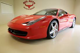 Ferrari 458 Coupe - 2011 ferrari 458 italia red on tan shields lifter pwr daytonas