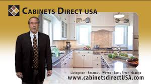 cabinets direct usa livingston nj cabinets direct usa 15 second tv spot with dave lubetkin youtube