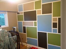 nursery accent wall behr paint harvest brown chocolate cupcake