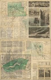Map Of Yosemite Map Of Yosemite Valley Yosemite Stage And Turnpike Company Map Of