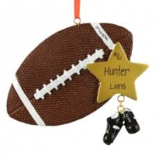 football ornaments gifts for you