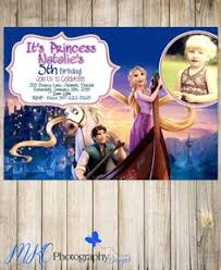 rapunzel birthday invitation tangled olivia 4th birthday party