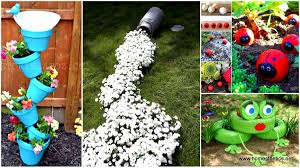 34 cheap diy art projects to beautify your backyard landscape