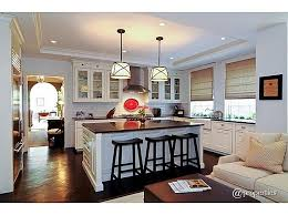 Best KitchenFamily Room Combos Images On Pinterest Kitchen - Kitchen and family room