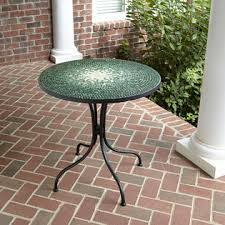 Tile Bistro Table Smith Reece Bistro Table In Green Mosaic Kmart