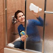 how to clean glass shower doors with hard water stains i59 all