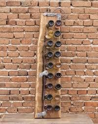pinterest u0027te 25 u0027den fazla en iyi oak wine rack fikri şarap rafı