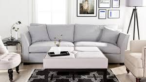 canapé gris perle séjour blanc et gris voici 15 idées soyez inspiré avec