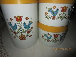 retro kitchen canisters set 178 best vintage kitchen canisters images on kitchen