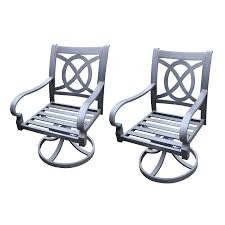 Lowes Allen And Roth Outdoor Furniture - shop allen roth set of 2 newstead gray textured slat seat