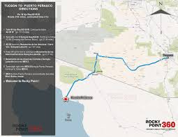 Map Of Rocky Point Mexico Maps U2013 Rocky Point 360