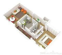 Apartment Layout Design Studio Apartment Plans 3d Interior Design