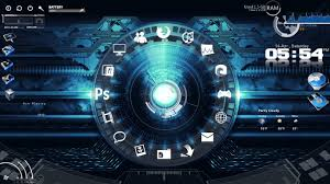 gadgets bureau windows 8 bureau windows 7 rainmeter blue planet rainmeter theme for