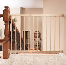 Child Gate Stairs by Evenflo Top Of Stairs Plus Wood Gate Natural Model 1050c