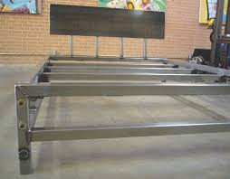 Steel Platform Bed Frame Check Out This Metal Bed Rom Weld House Cool It Even Has An