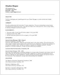 general resume exles resume for general general manager resume exle