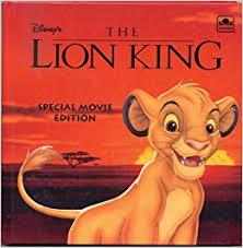 lion king special movie edition walt disney amazon books
