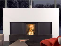 double sided wood burning built in fireplace plasma 95b wood wood