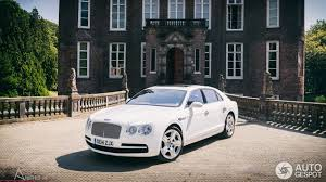 red velvet bentley driven bentley flying spur v8