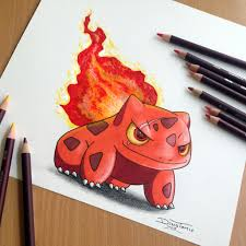 fire starters using flames to bulbasaur fire starter drawing by atomiccircus on deviantart