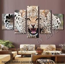 leopard room decor