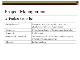 Project Project Management Change Request by Prj566 Project Planning And Management Cost Benefit Analysis